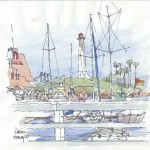 Boats in Long Beach 150x150 Sketches