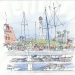 Boats in Long Beach